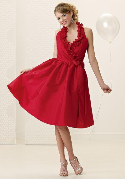 Ruffle Halter Neck Jordan Bridesmaid Dress 950  f4adc3af4