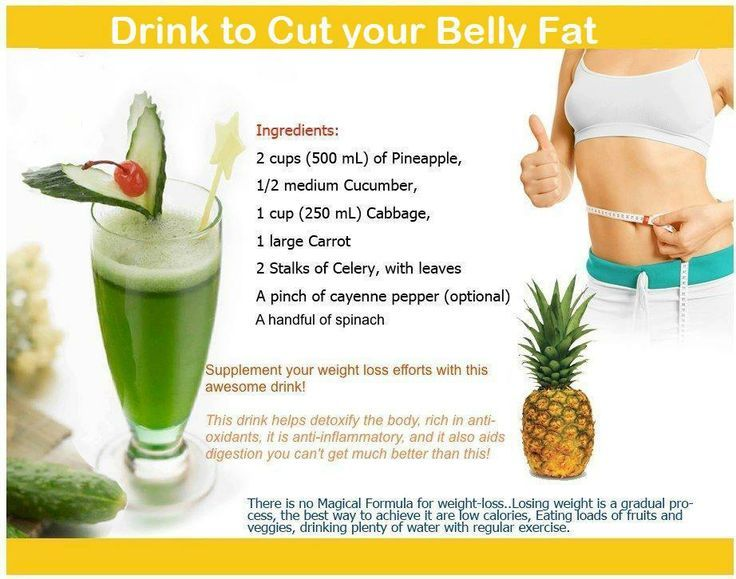 juicing to lose belly fat
