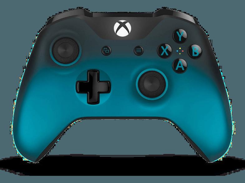 On Aime Microsoft Manette Sans Fil Xbox Ocean Shadow édition Spéciale Wl3 00040 Chez Media Markt
