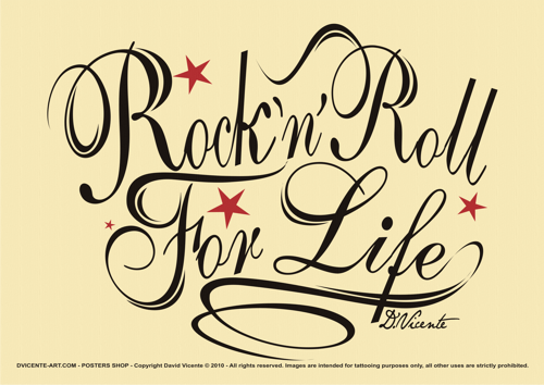Rock'n Roll for Life- D.Vicente