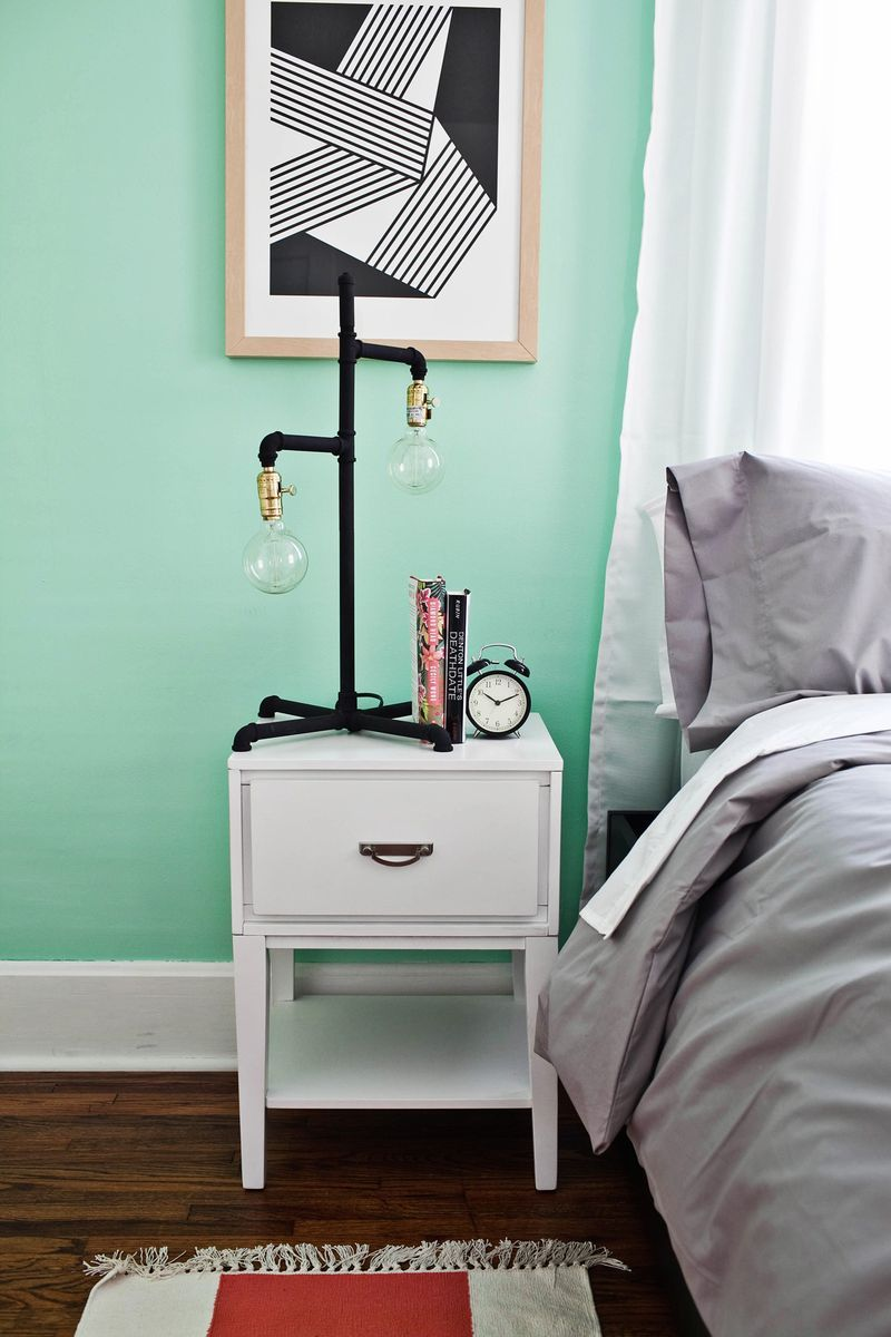 Mint Green Bedroom Farben Wall Color Mint Green Gives Your Living Room A Magical