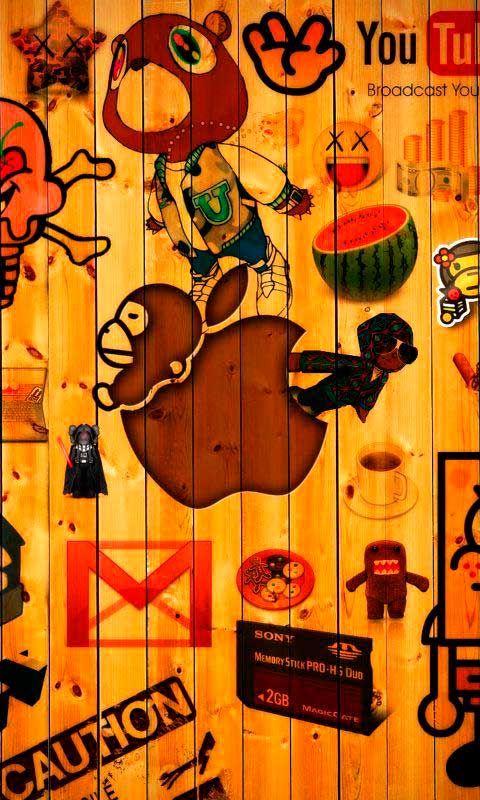 Funny Phone Wallpapers Hd Wallpapersafari Iphone Wallpaper Art Background Funny Phone Wallpaper
