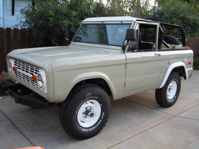 Master Picture List Of Original Colors Ford Bronco Classic