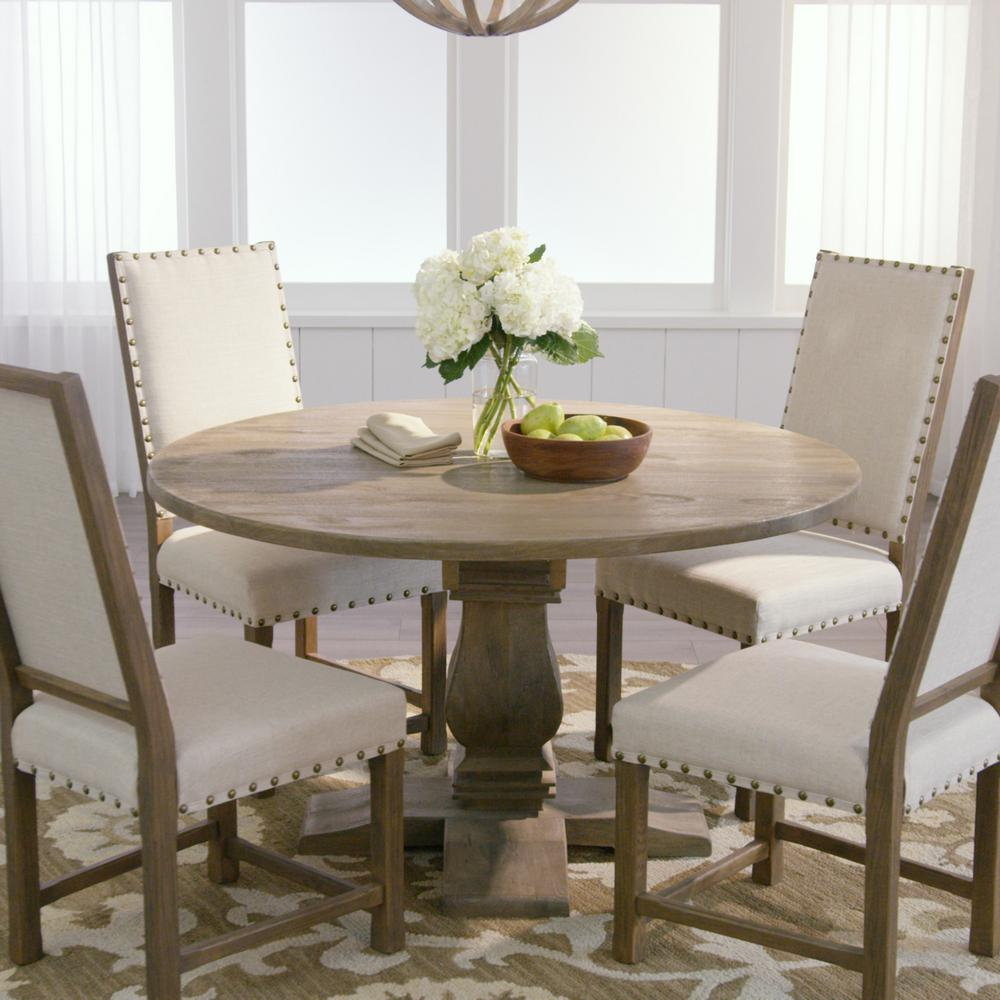 Rooms To Go Dining Sets: Home Decorators Collection Aldridge Antique Grey Round