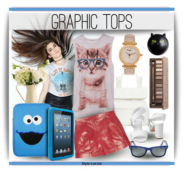 #Graphic #Top Set by http://style-list.biz  ----  FOLLOW us on Facebook to get updates:  https://www.facebook.com/stylelist.biz  #Style, #Fashion and #Shopping Guide