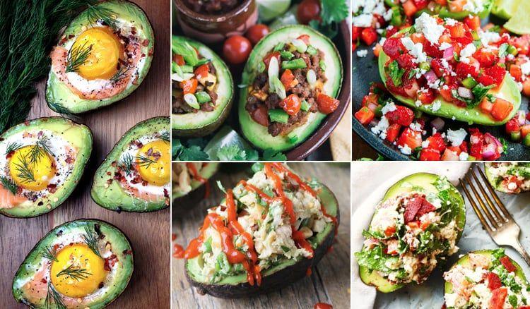 15 Best Stuffed Avocado Recipes | http://eatdrinkpaleo.com.au/15-best-stuffed-avocado-recipes/