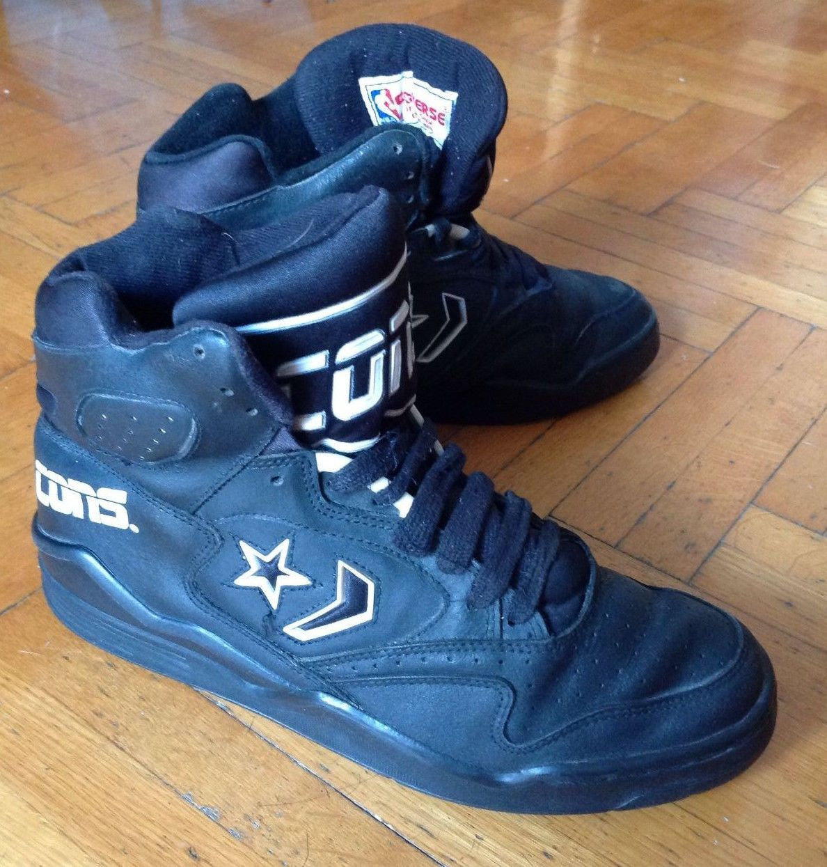 Converse Cons Erx Hi Top Size 9 1 2 Us Black 90 S Vintage Basketball Nba Converse Basketball Shoes Sneakers Converse