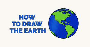 How To Draw The Earth Really Easy Drawing Tutorial In 2020 Drawing Tutorial Easy Drawing Tutorial Earth Drawings