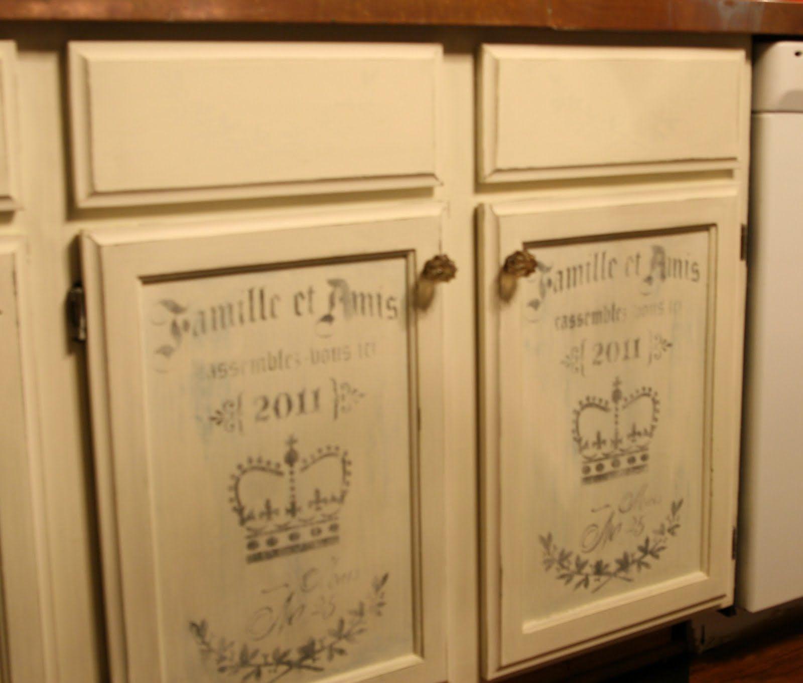 Chalk Paint Kitchen Cabinets ~ | Chalk paint, Painted bathroom ...