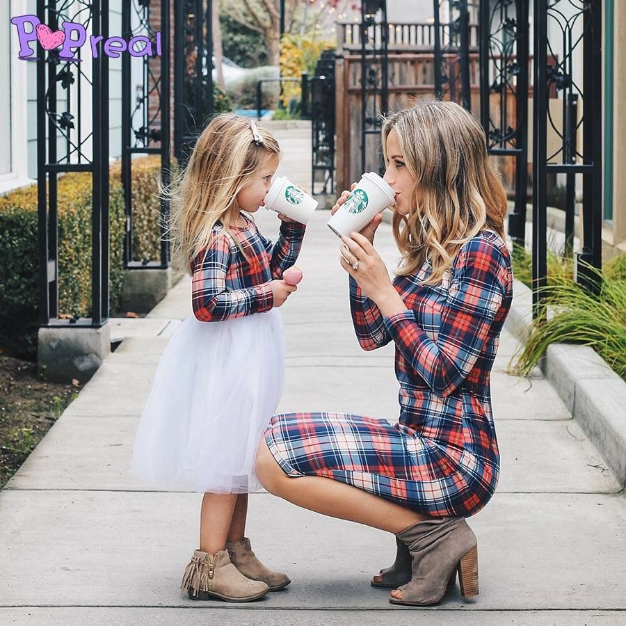 Mom daughter matching outfits  Mom daughter outfits, Mother