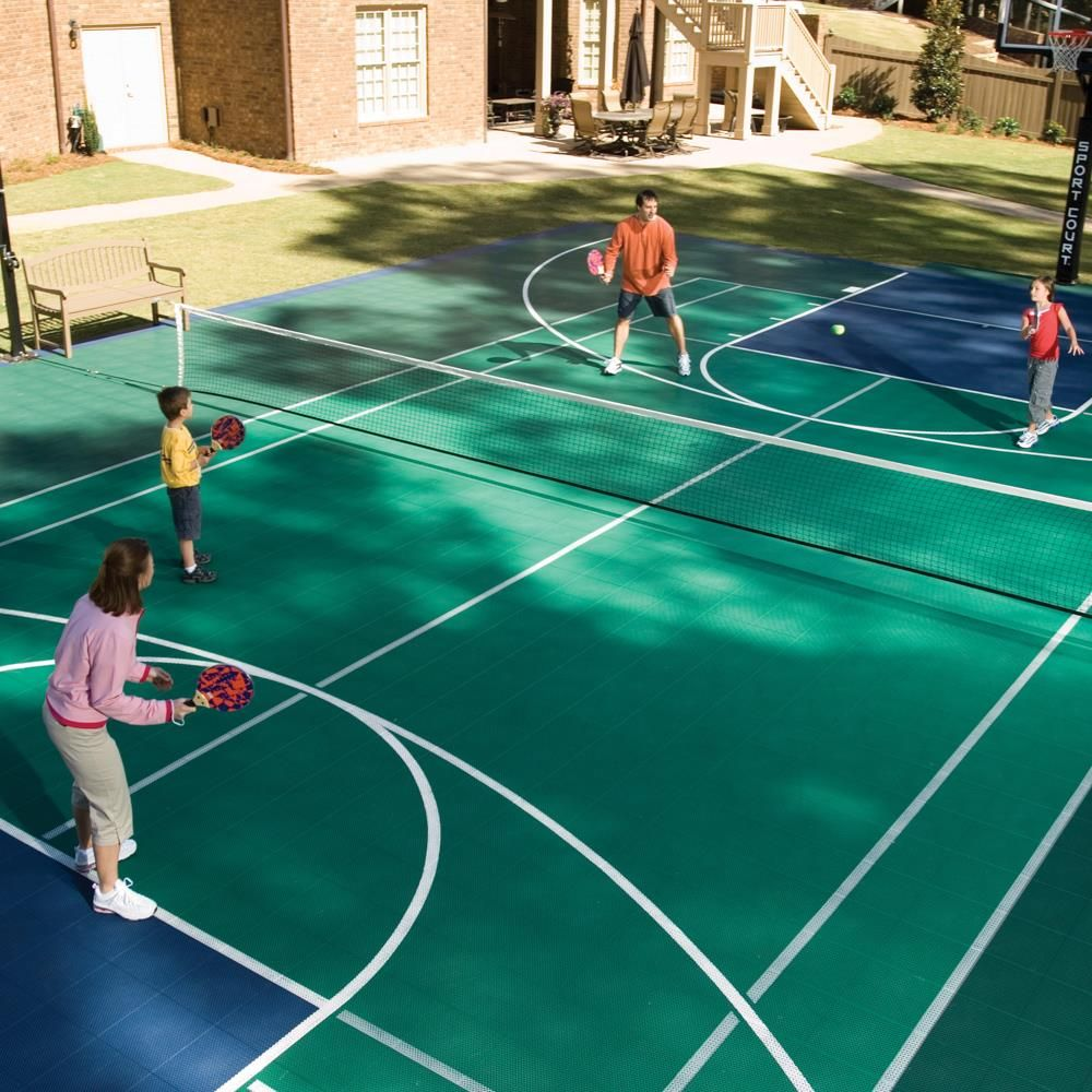 What Is A Family Sports Court? It Is Either A Multi Sport Gaming Area, Or A  Court Dedicated To A Specific Game Such As Tennis, Basketball, Or  Volleyball.