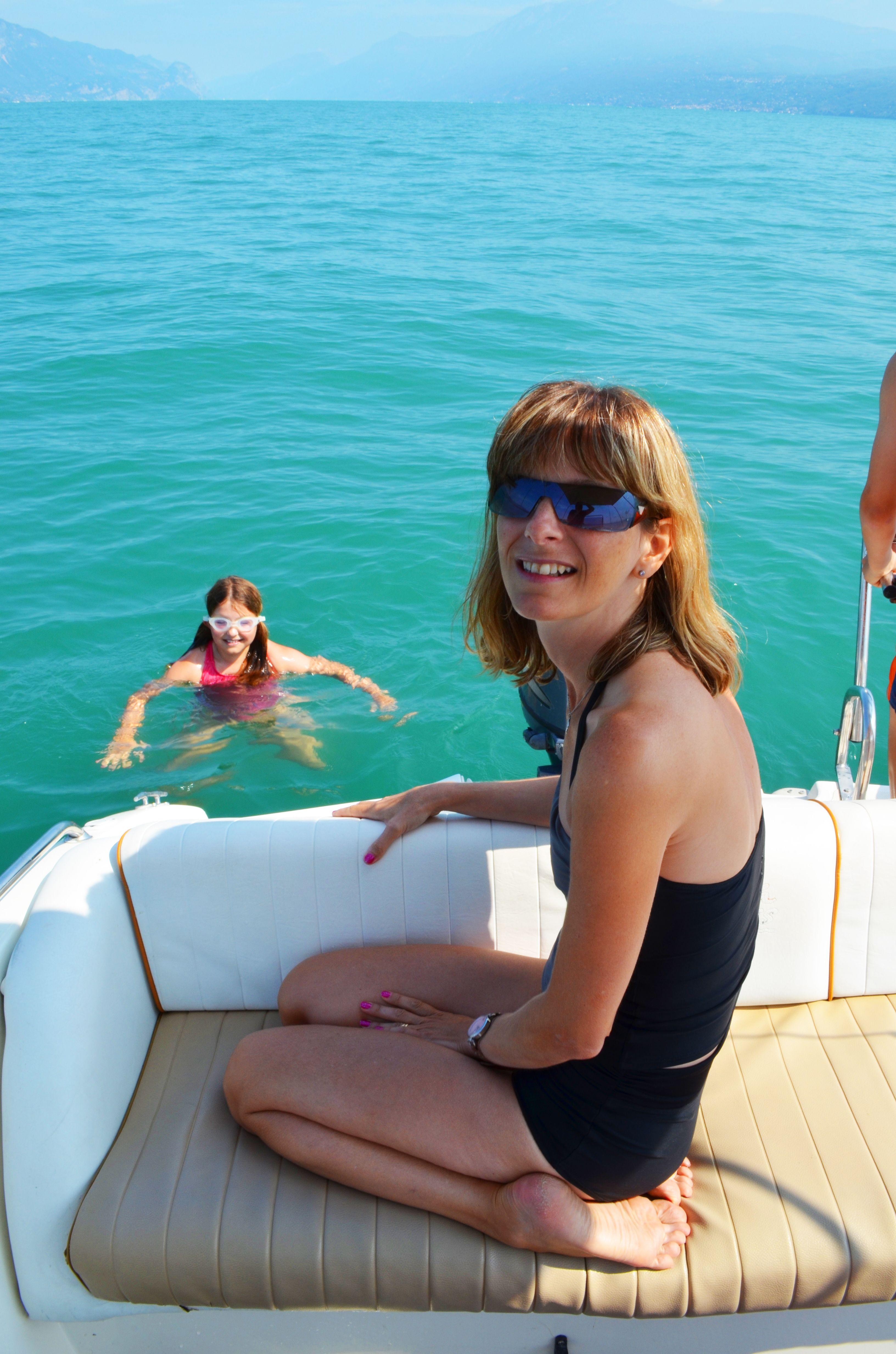 Bethany takes a dip in Lake Garda... Lake garda, Garda, Lake