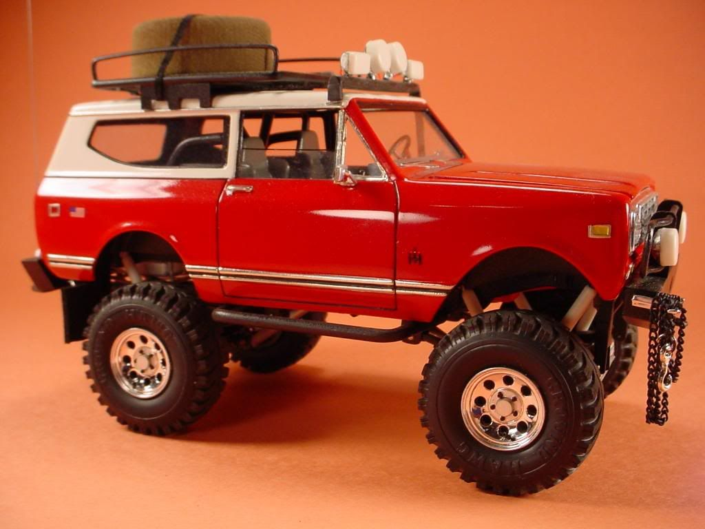 73 international scout II - On the Workbench: Pickups, Vans, SUVs, Light Commercial - Model Cars Magazine Forum