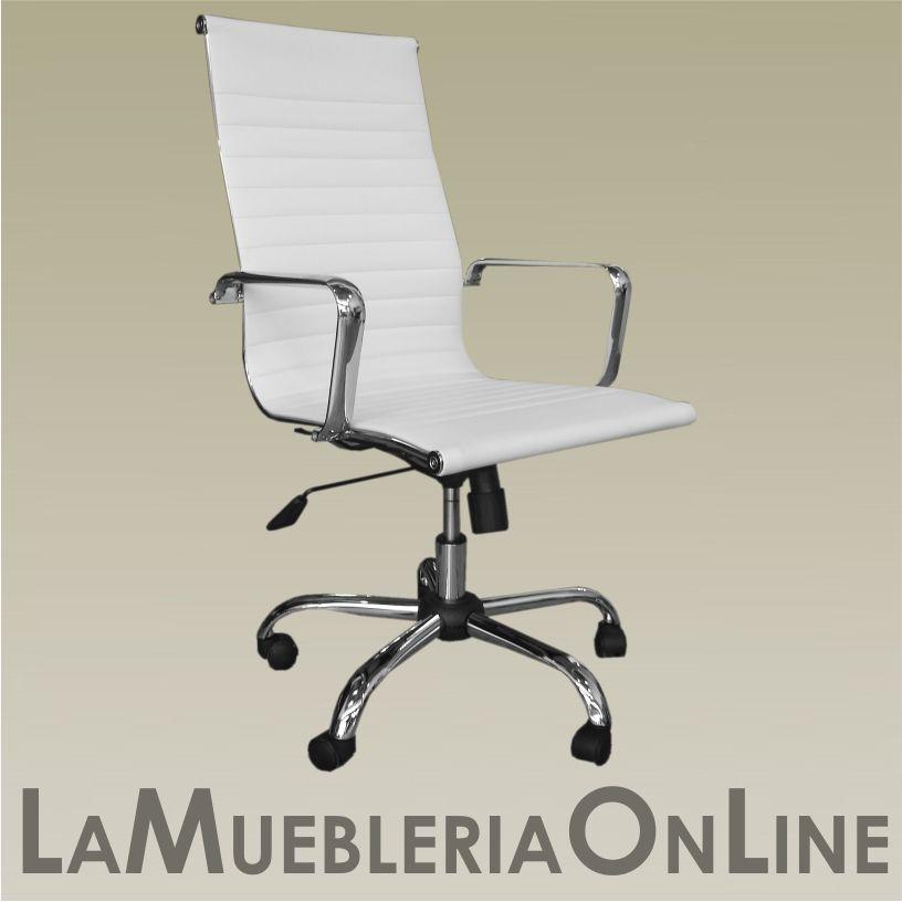 ARQ T-1001/B SILLA OFICINA ALUMINIUM ALTA BLANCA | Sillas de Oficina ...