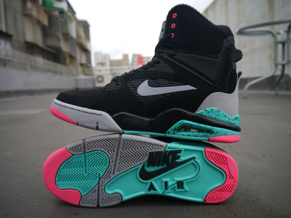 the best attitude a69d5 00df1 Nike Air Command Force Pump Spurs Black 2014 Mens Casual Shoes Sneakers  Atmos