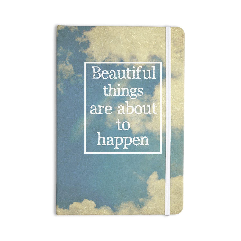 """Rachel Burbee """"Beautiful Things"""" Sky Clouds Everything Notebook"""