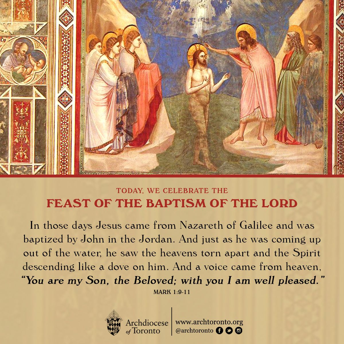 Bible Quotes About St John The Baptist: Feast Of The Baptism Of The Lord #catholic #jesus #baptism