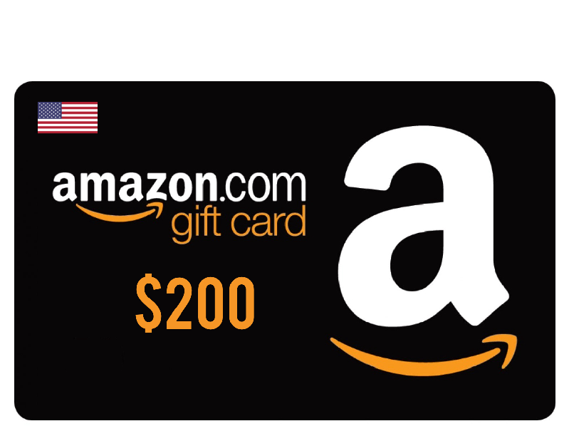 Win A 200 Amazon Gift Card And A Worth 99 Amazon Gift Card Free Best Gift Cards Amazon Gifts