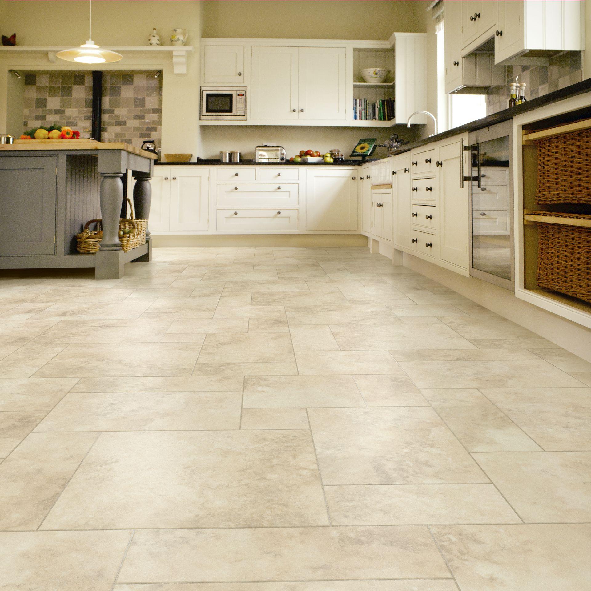 70 Tile Floor Farmhouse Kitchen Decor Ideas 21 Livingmarch Com Vinyl Flooring Kitchen Kitchen Flooring Kitchen Vinyl