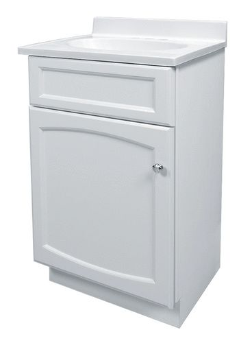 Woodhaven 18 X 16 White Vanity Combo At Menards With Images