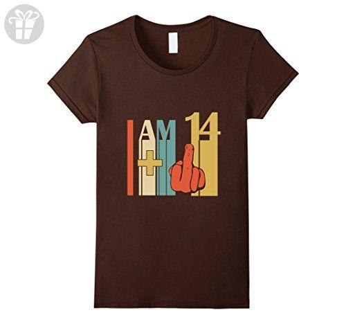 Womens 15th Funny Retro Birthday Color T-Shirt 15th Birthday Tee XL Brown - Birthday shirts (*Amazon Partner-Link)