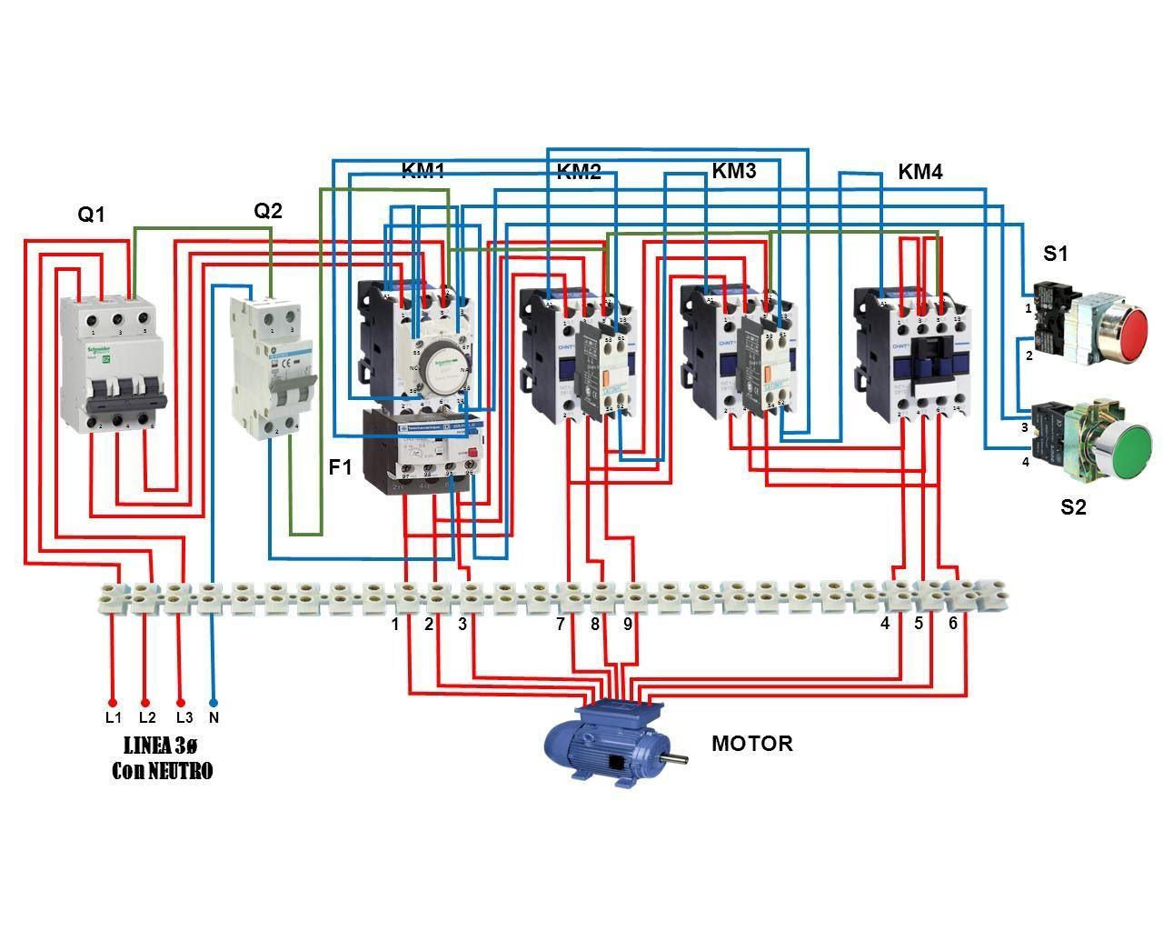 Schema Elettrico Hm : Circuito estrella doble estrella motores eléctricos pinterest