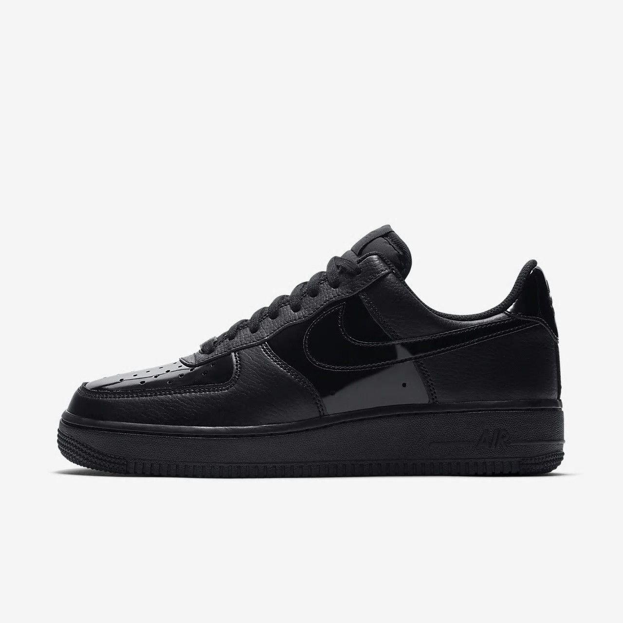 brand new 1d295 daadd  niekwomens  nikeairforce  nike Women s Nike Air Force 1  07 Patent Black
