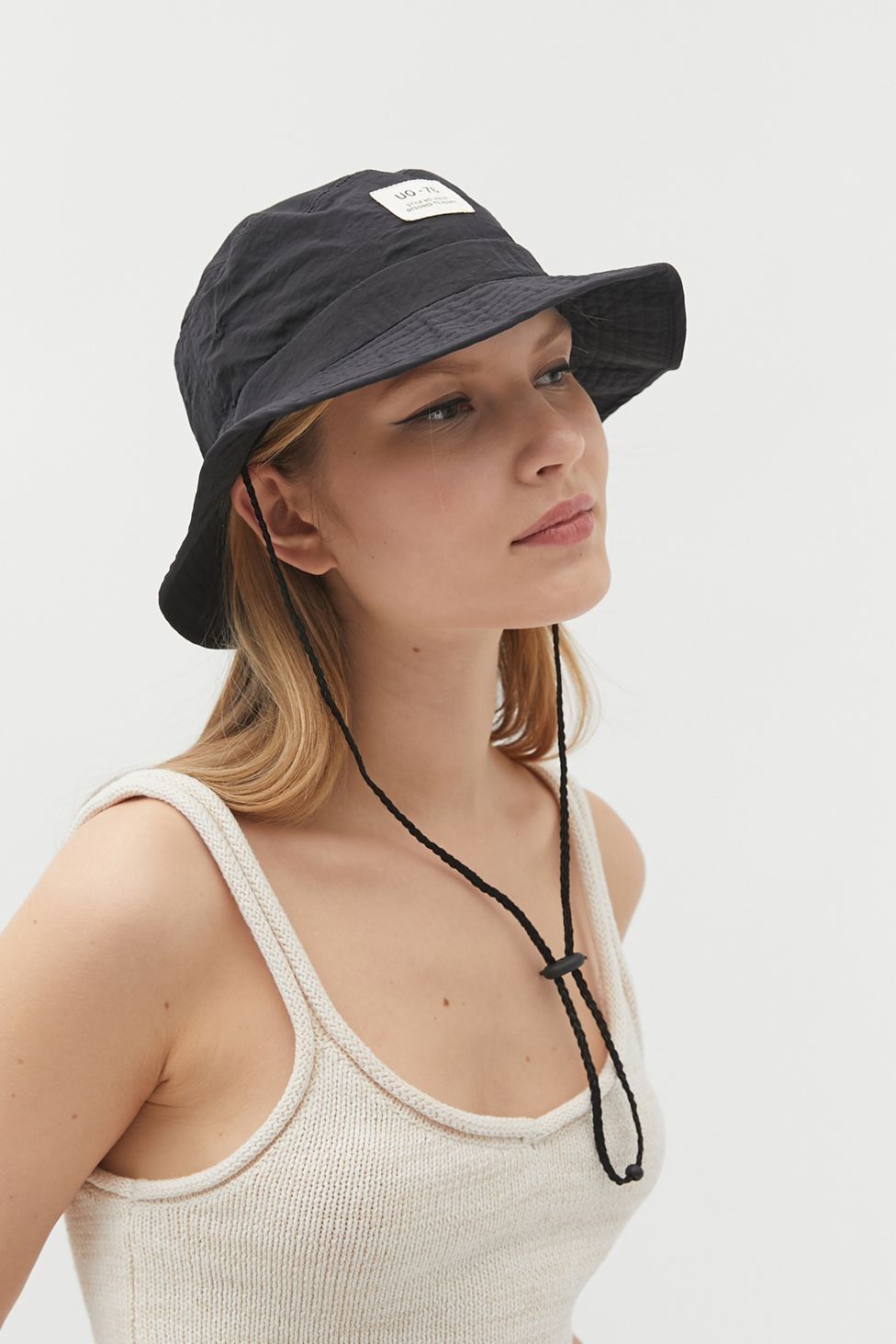 Uo Safari Drawstring Bucket Hat Urban Outfitters Hiking Hats For Women Outfits With Hats Fashion