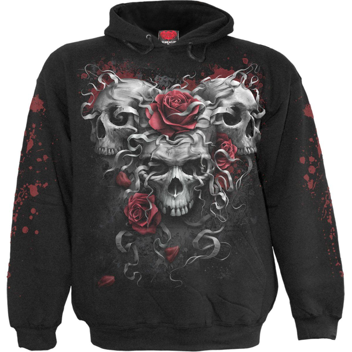 SKULLS N ROSES - Hoody Black in 2019  15575cd3efa