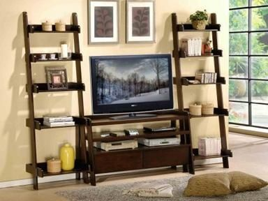 Ladder Shelf Decor Pinterest