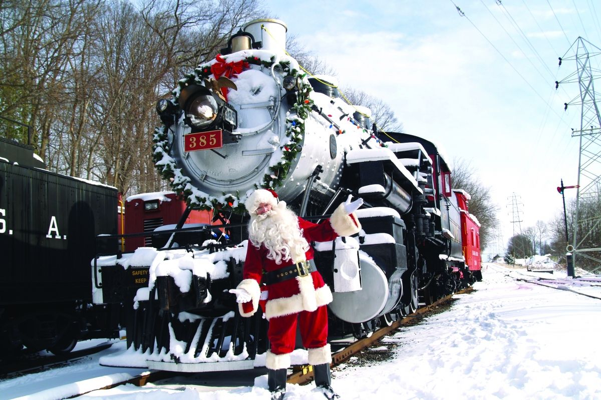 Christmas Train Ride Nj.Book Tix For These Nj Area Holiday Train Rides Before They