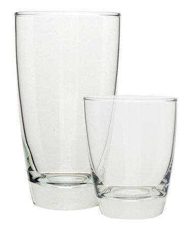Loving this Seoul 12-Piece Glassware Set on #zulily! #zulilyfinds