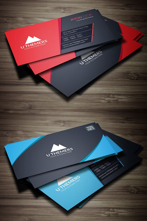 26 New Professional Business Card Psd Templates Business Card