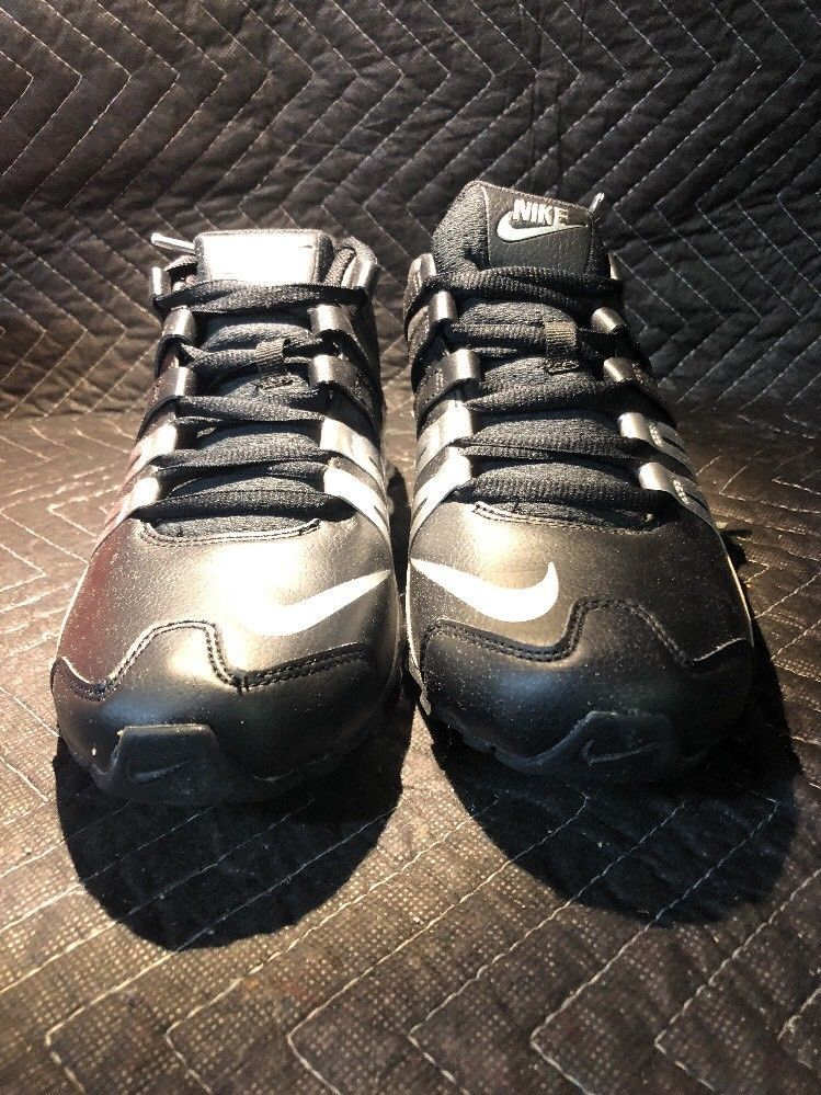 info for 66b4b bd70d ... uk mens nike shox current 633631 015black silver size 10 shoes  shoesformen c6574 790c4