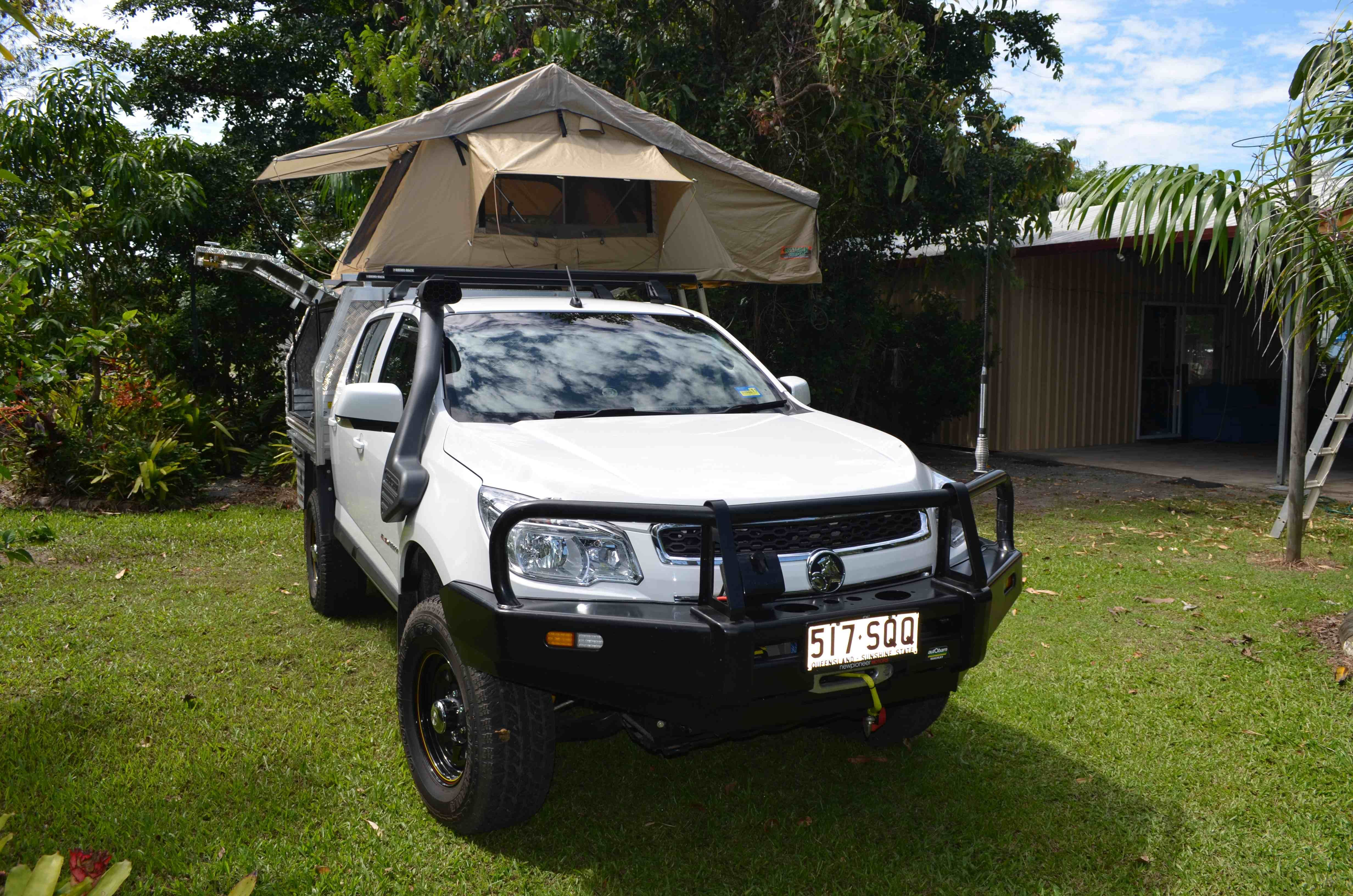 Colly Kid - My RG with canopy and rooftop tent added | Australian 4WD Action & Colly Kid - My RG with canopy and rooftop tent added | Australian ...