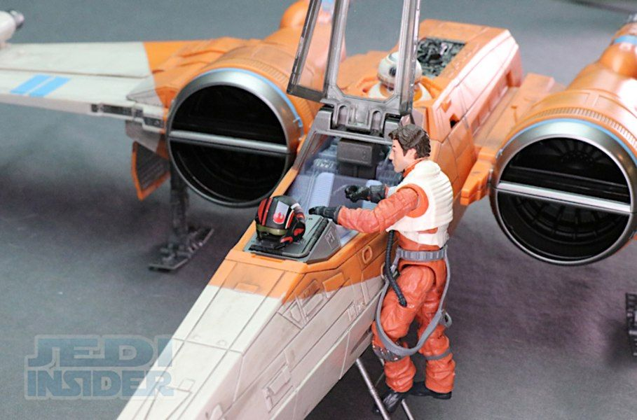Starwars The Rise Of Skywalker Vintage Collection Poe Dameron S X Wing Video Review And Images Poe Dameron Skywalker Vintage Collection
