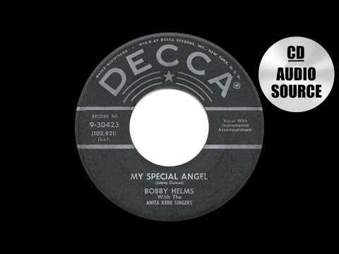 1957 HITS ARCHIVE: My Special Angel - Bobby Helms - YouTube