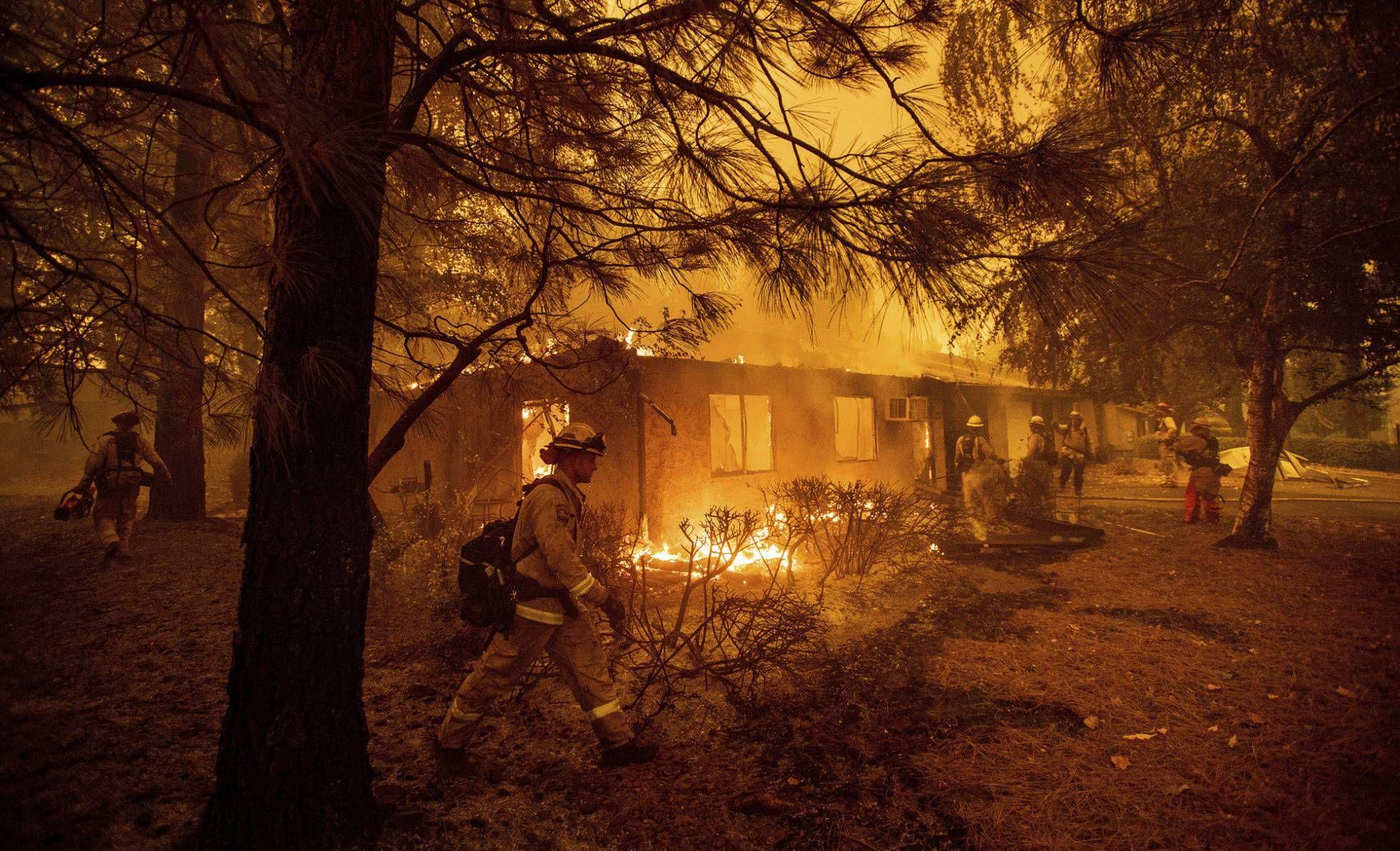 California Una Hoguera Lista Para Arder De Nuevo