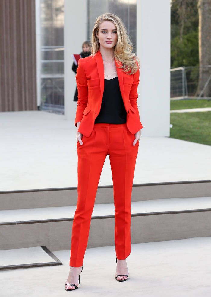The Red Suit #Blazers #Pants #Sandals | Women's Fashion ...