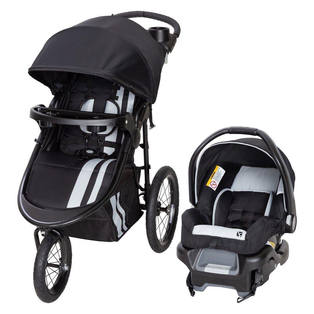 BABY TREND Swivel Stroller Travel System Jogger Infant Kids Girls Jogging NEW