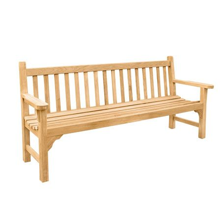 Teak Outdoor Benches Windsor Collection Straight Arm Bench Country Casual Teak Garden Bench Teak Bench