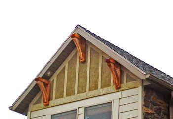 Exterior corbel google search wainscoting trim for Craftsman corbels exterior