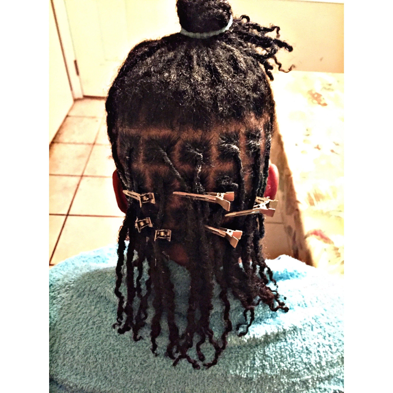 Retwist dreads #dreads #dreadhead
