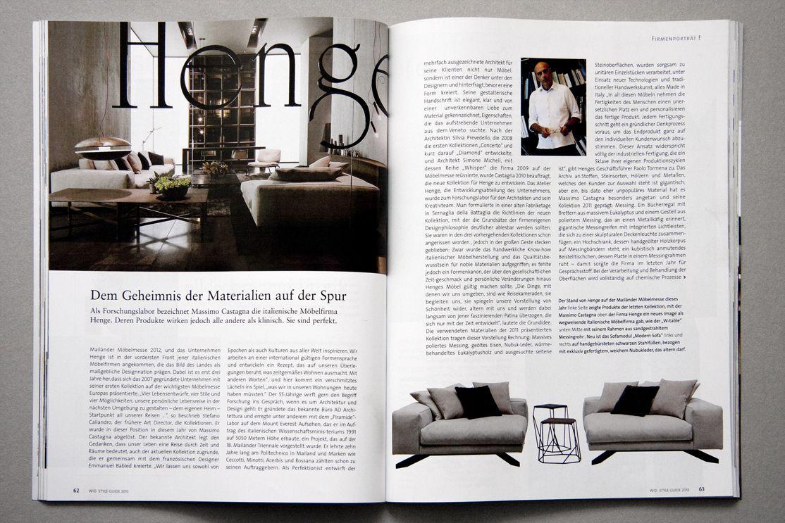 Wohn Magazine wohn design the international magazine of architecture living and