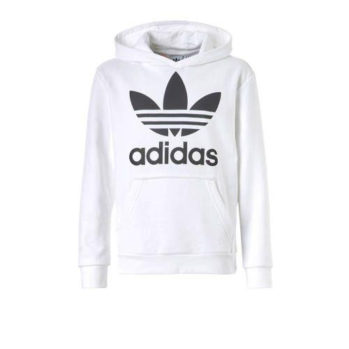 8a888dbd7af adidas originals hoodie wit in 2019 | Products - Adidas originals ...