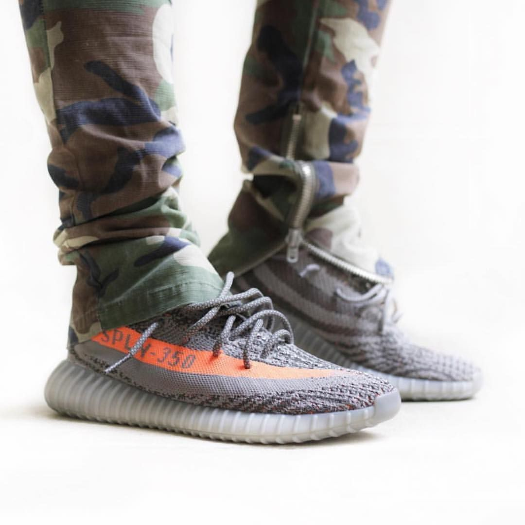 best loved 73627 18151 Dope shot of the BELUGA Yeezy Boost 350 V2 on-foot - Releasing this weekend  at MANY retailers - Click the link in our BIO to see them all!