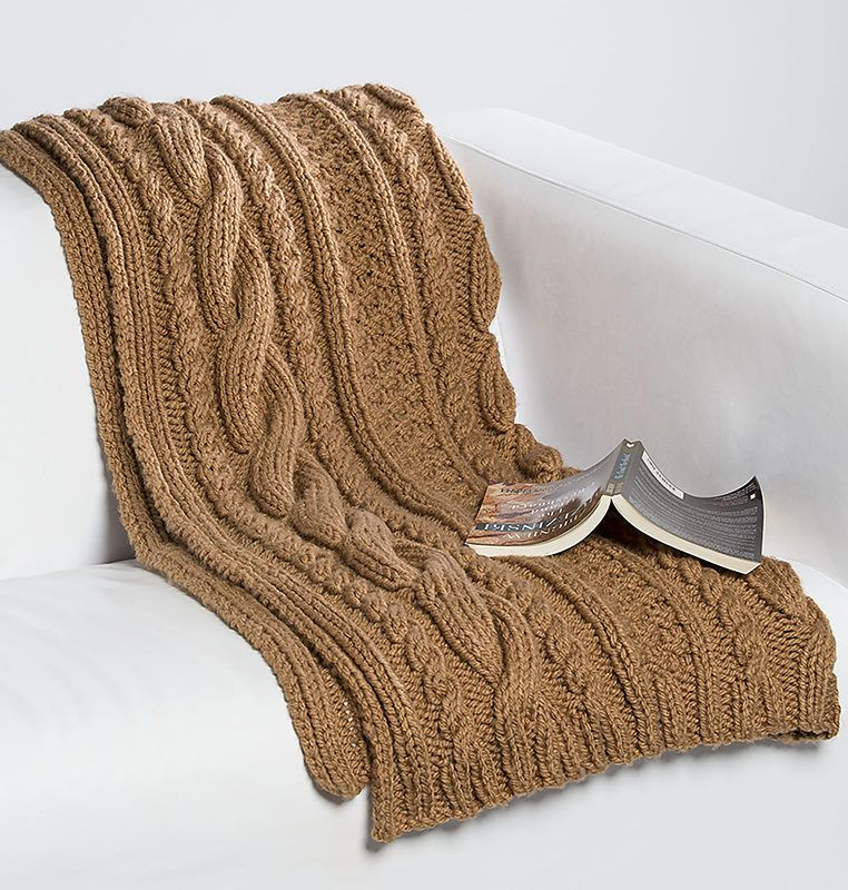 Cable Afghan Knitting Patterns | Manta, Rincón de costura y Tejido