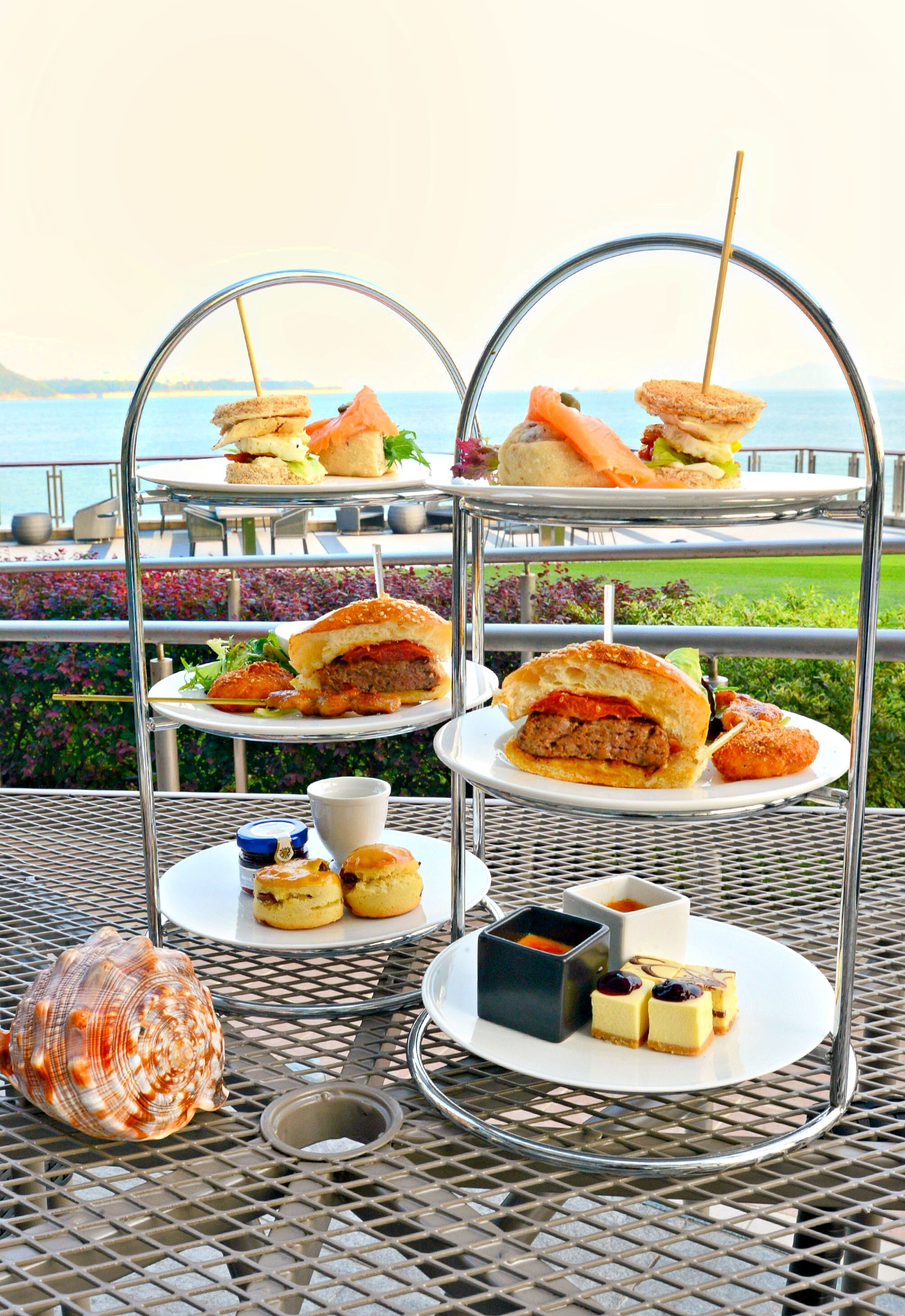Afternoon Tea @ Caf Bord De Mer Auberge Discovery Bay