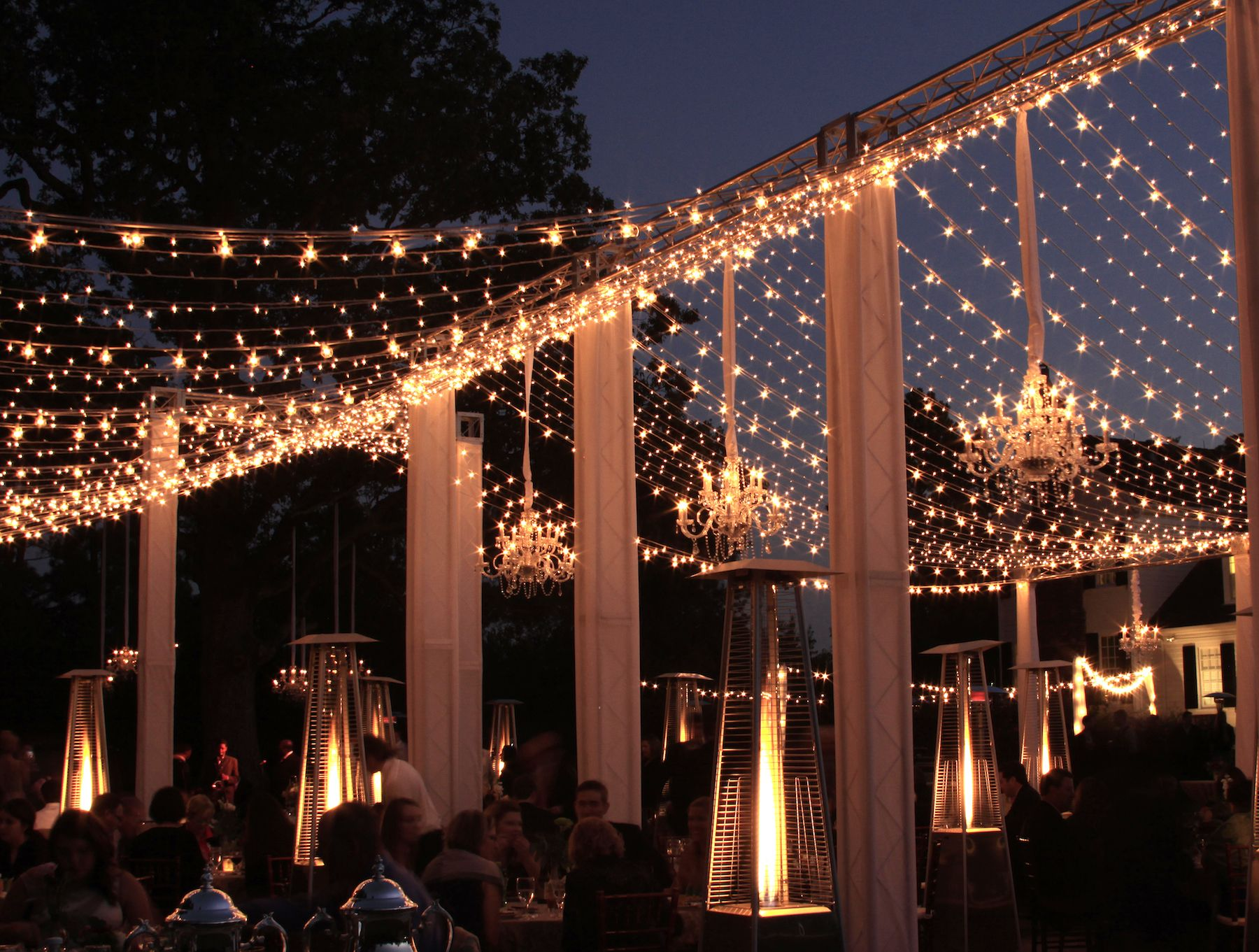 Le Lightarket Lights On Our Truss Structure