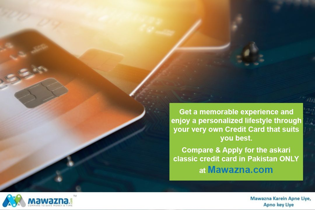 Get Askari Bank Classic Credit Card Complete Information